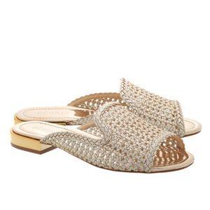 SCHUTZ  'Sulola' Woven Sandals Size 8 1/2